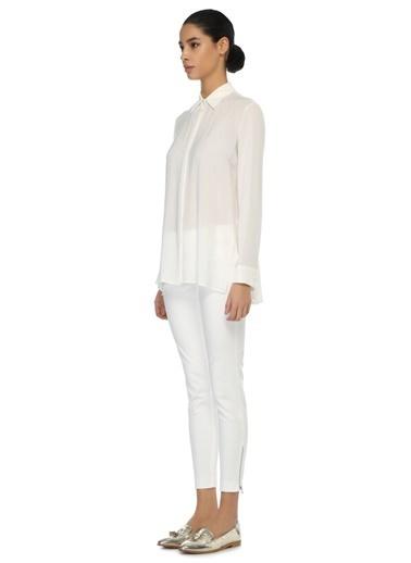 The Row Şifon Gömlek Beyaz